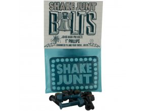 shake junt ishod signature bolts skateboard hardware black blue