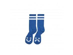 HAPPY SAD SOCKS BLUE 1