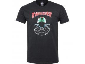 rd thrasher doubles ss tee black