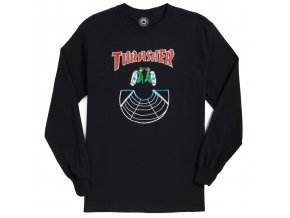 THRASHER DOUBLES LONG SLEEVE BLACK