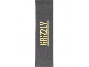 Grizzly Gold Stamp Grip Tape 261160