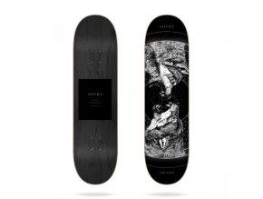 sovrn geri and freki b 8 18 skateboard deck