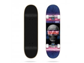 product t r tricks skull 7 75 complete skateboard