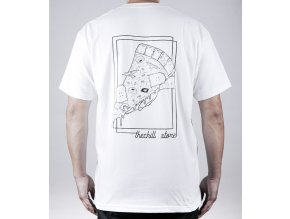 biele tričko zadná strana