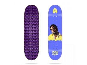 sk8mafia stephen lawyer 4eva 8 25 skateboard deck
