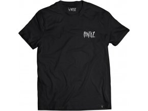 ANTIZ WEAR hiboo tee black front