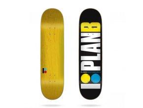 plan b skateboards team og neon 7 75 skateboard deck