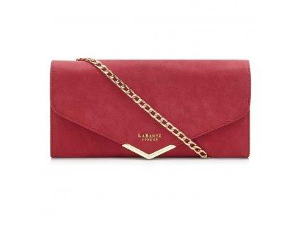starling red vegan purse bag chain strap clutch detachable gold 348 2048x