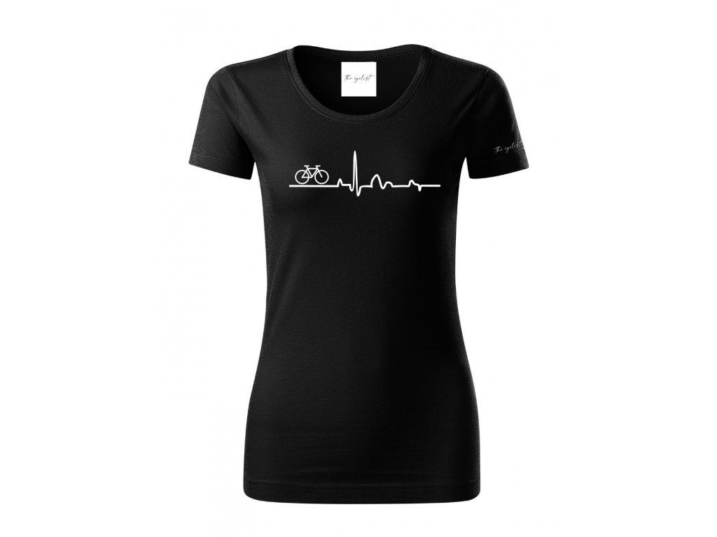 Tričko pro cyklistky z organické bavlny - EKG