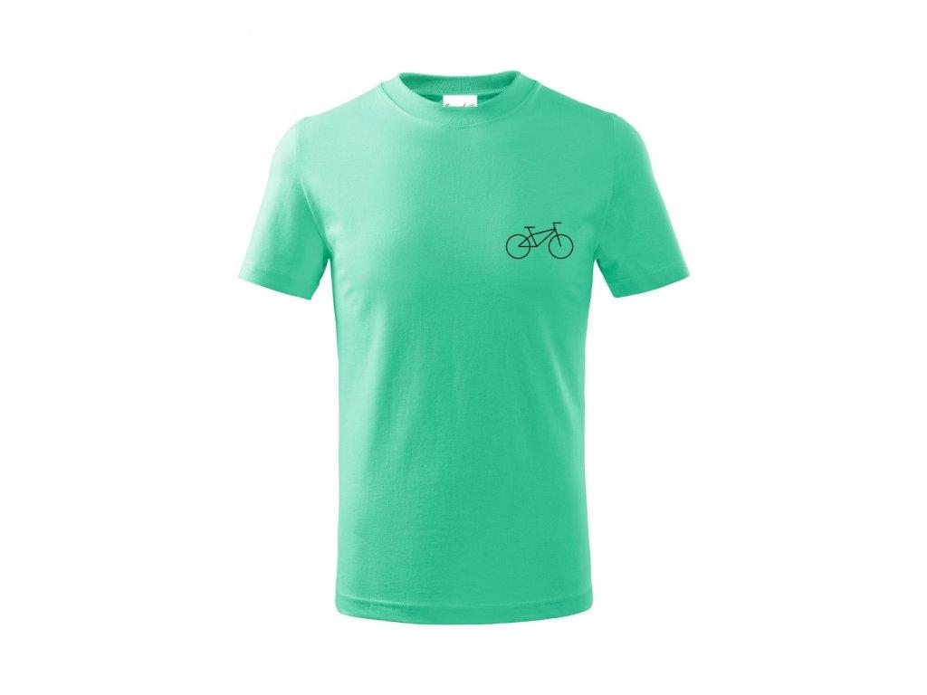 Dětské bavlněné triko - Kolo