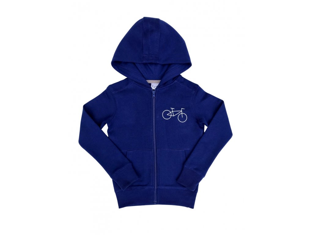 Dětská mikina The cyclist s kolem