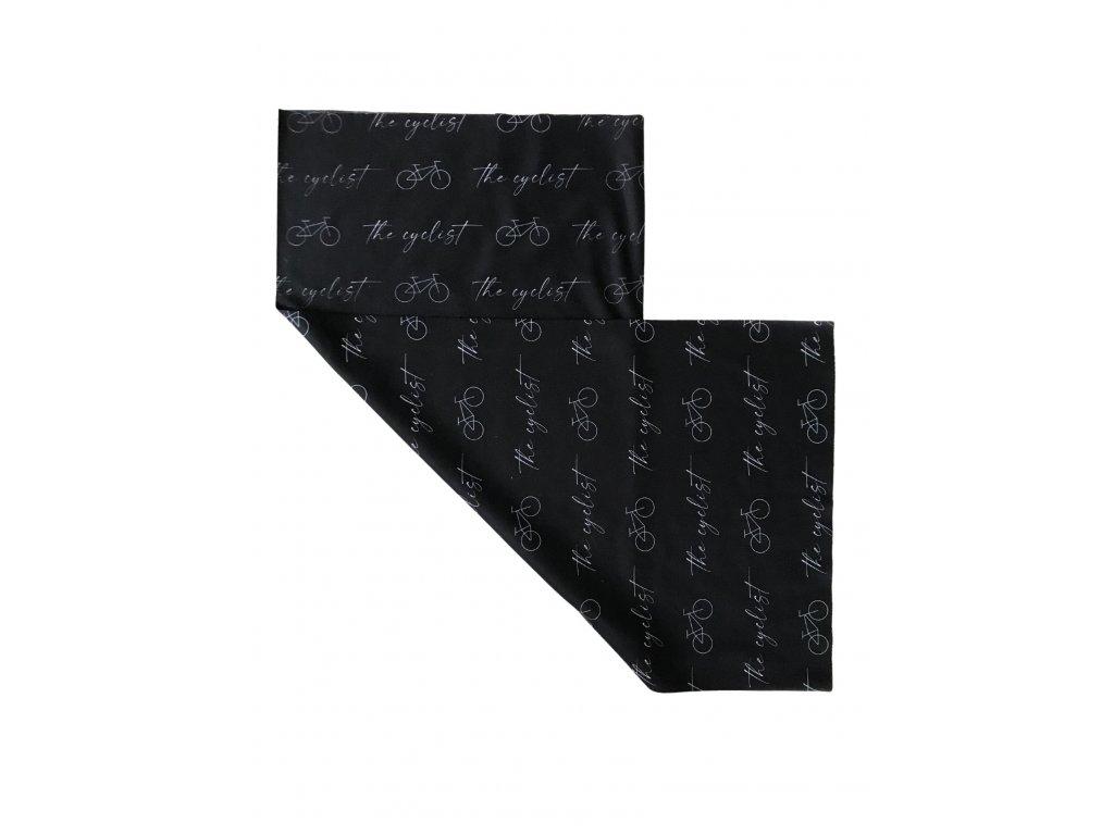 Multifunkční šátek pro děti - černý
