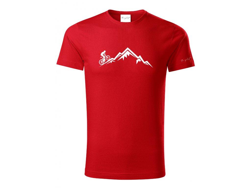 Tričko pro cyklisty z organické bavlny - Hora