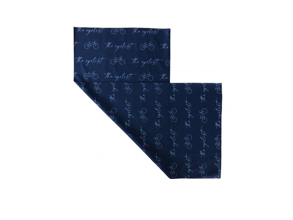 Multifunkční šátek The cyclist - tmavě modrý