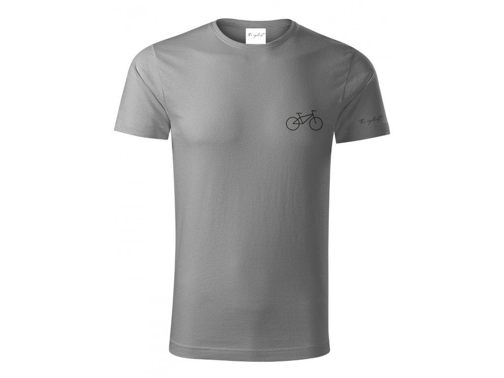 Tričko pro cyklisty z organické bavlny - Kolo