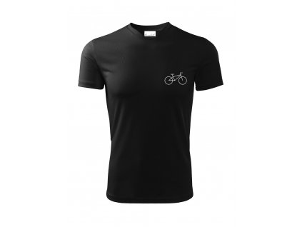 Dětské funkční tričko The cyclist s kolem