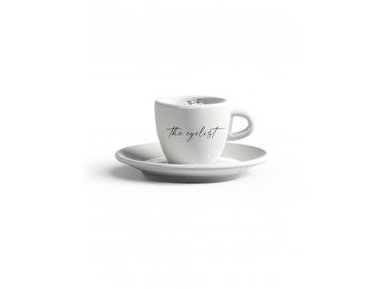 Espresso hrnek s podšálkem