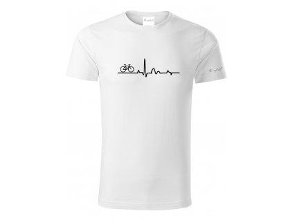Tričko pro cyklisty z organické bavlny - EKG
