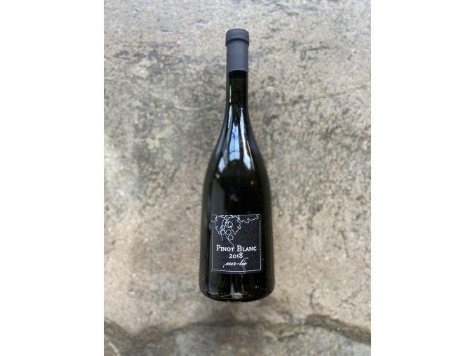 Pinot blanc sur lie 2018