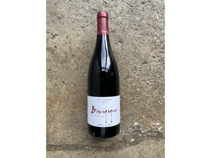 Bourgogne Rouge 2017, Sarnin-Berrux
