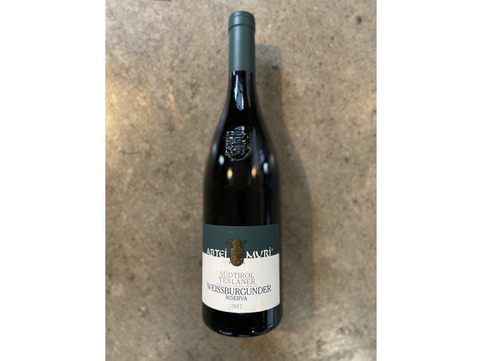 Pinot bianco Riserva Abtei Muri 2017, Muri-Gries
