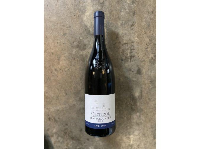 Pinot nero 2019, Muri-Gries