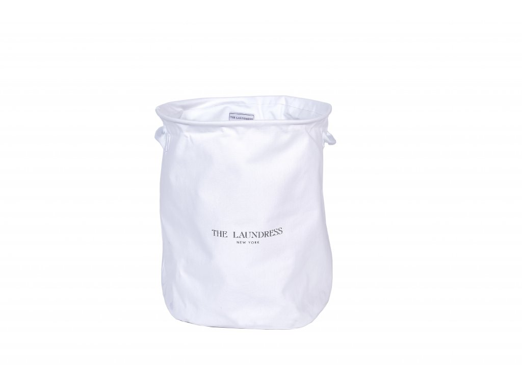 The Laundress Collapsible Hamper White 1
