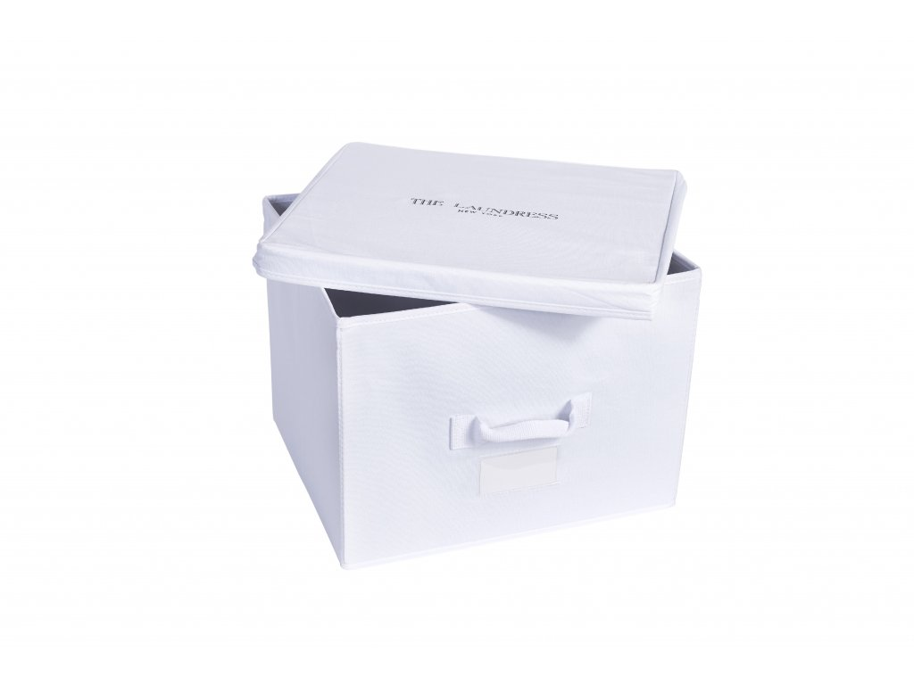 The Laundress Medium Storage Box White