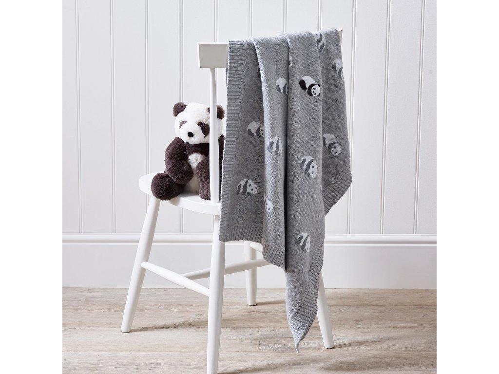 dětská deka panda