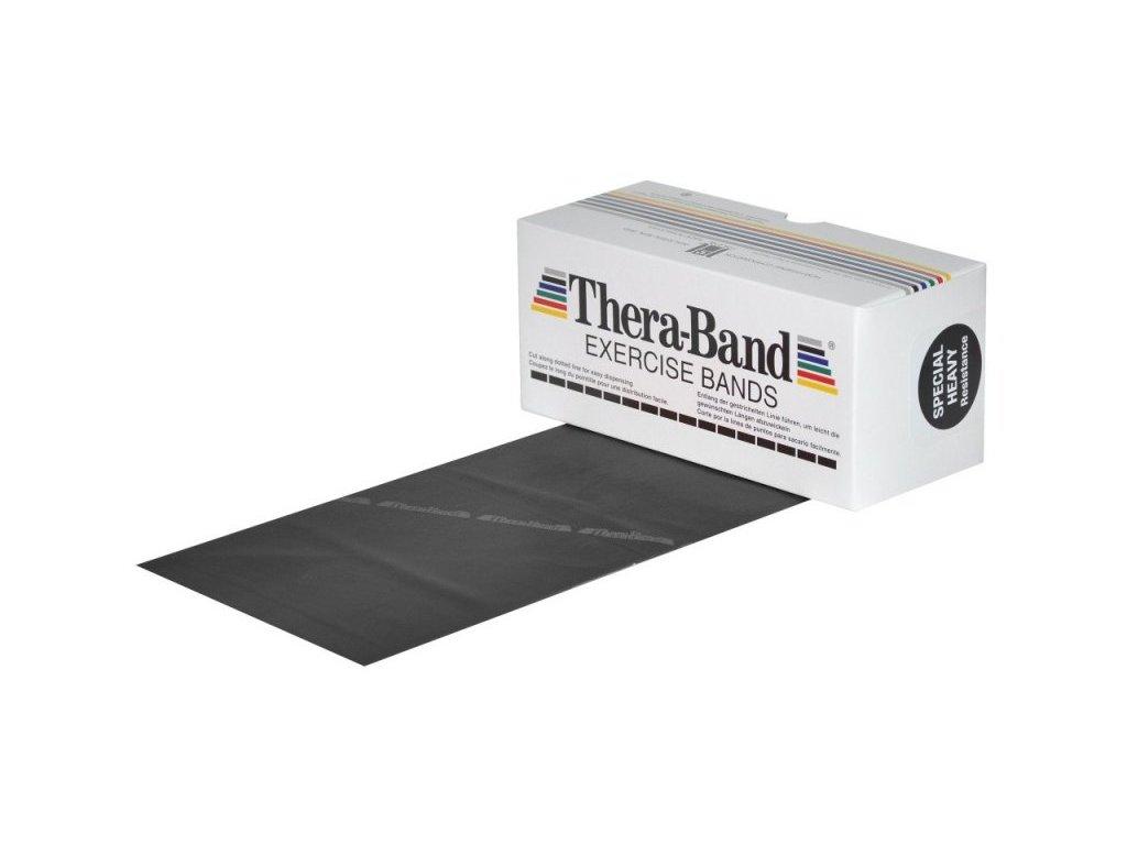 Thera-Band posilovací guma 5,5 m, černá, speciálně silná