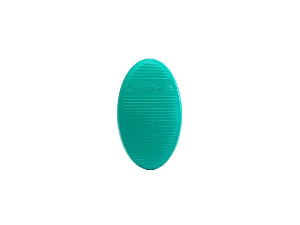 Thera-Band balanční podložka, zelená - tvrdá, 40x23x5cm