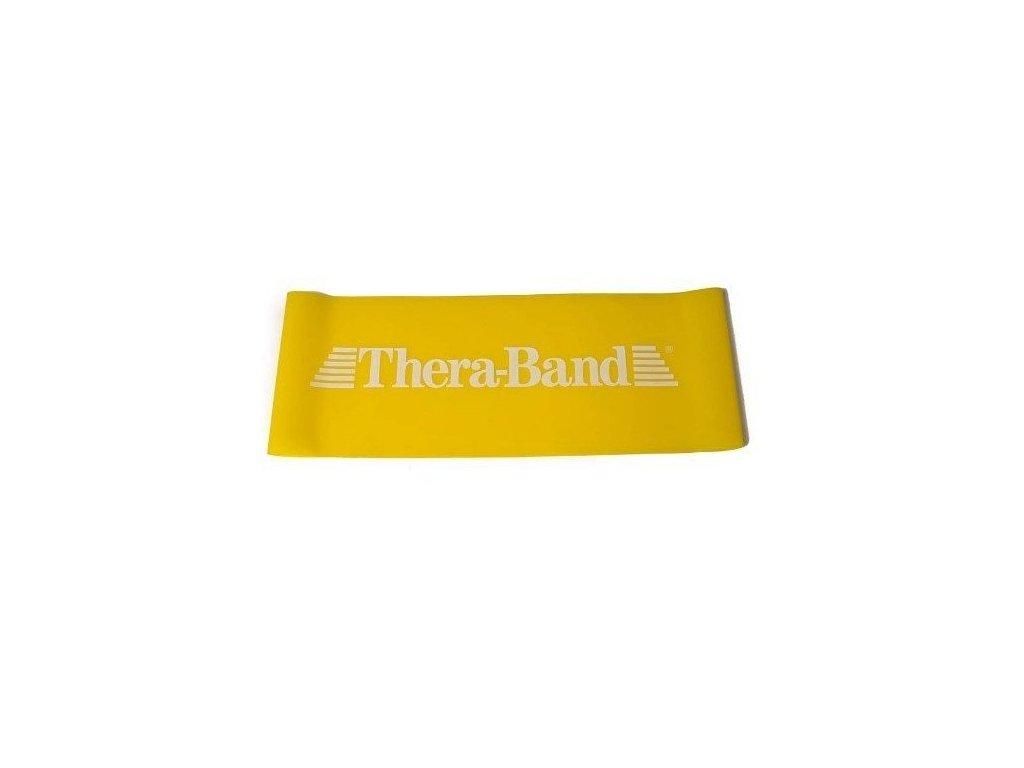 Thera-Band Loop 7,6 x 30,5 cm, žlutá, slabá