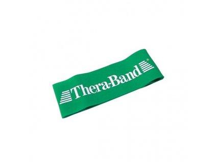 Thera-Band Loop 7,6 x 30,5 cm, zelená, silná