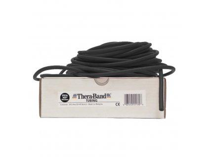 Thera-Band Tubing 30,5 m, černá, speciálně silná