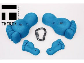 THEREX Foot and Foot Screw Set