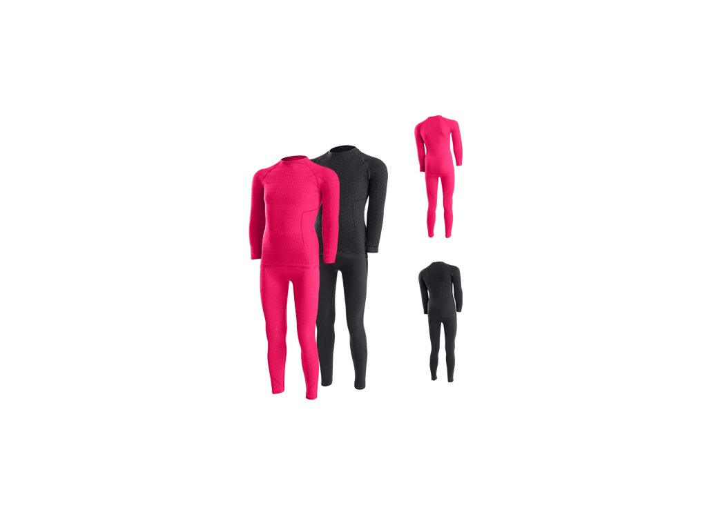 LENZ dětské funkční prádlo - set - růžový