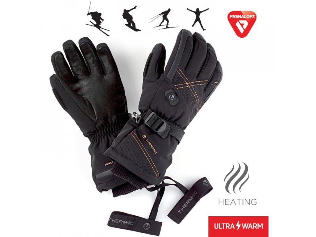 therm ic vyhrivane rukavice utra heat gloves woman 3