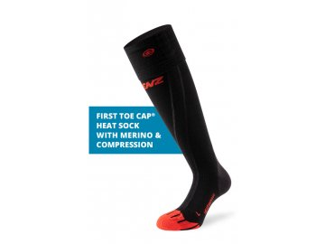 1060 heat sock 6.0 toe cap merino compression stoerer en