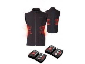 LENZ vyhřívaná vesta - pánská - Heat vest 1.0
