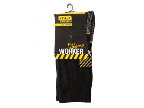 pracovní ponožky - 1 pár - STAFF Worker Four Seasons