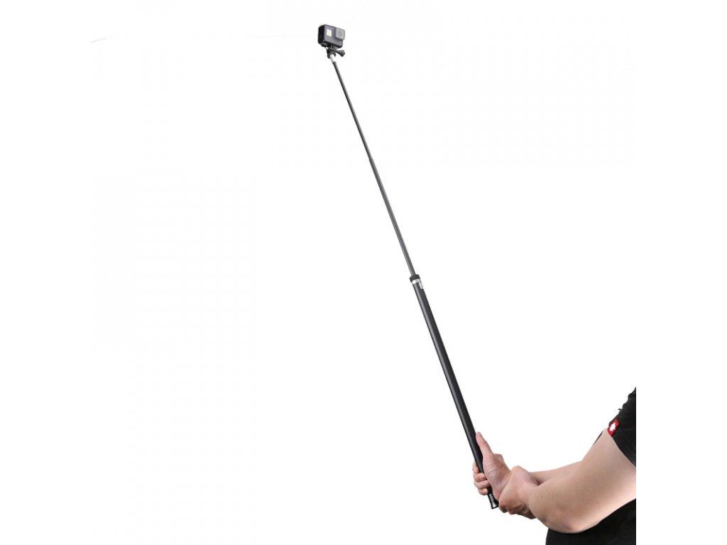 2,7 M super dlouhá karbonová selfie tyč