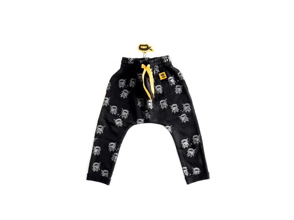 Teplákové kalhoty NINJA - černé