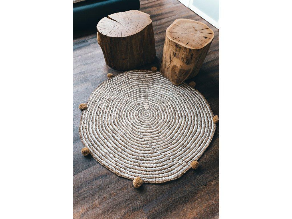 Ručně tkaný balijský koberec - typ 3