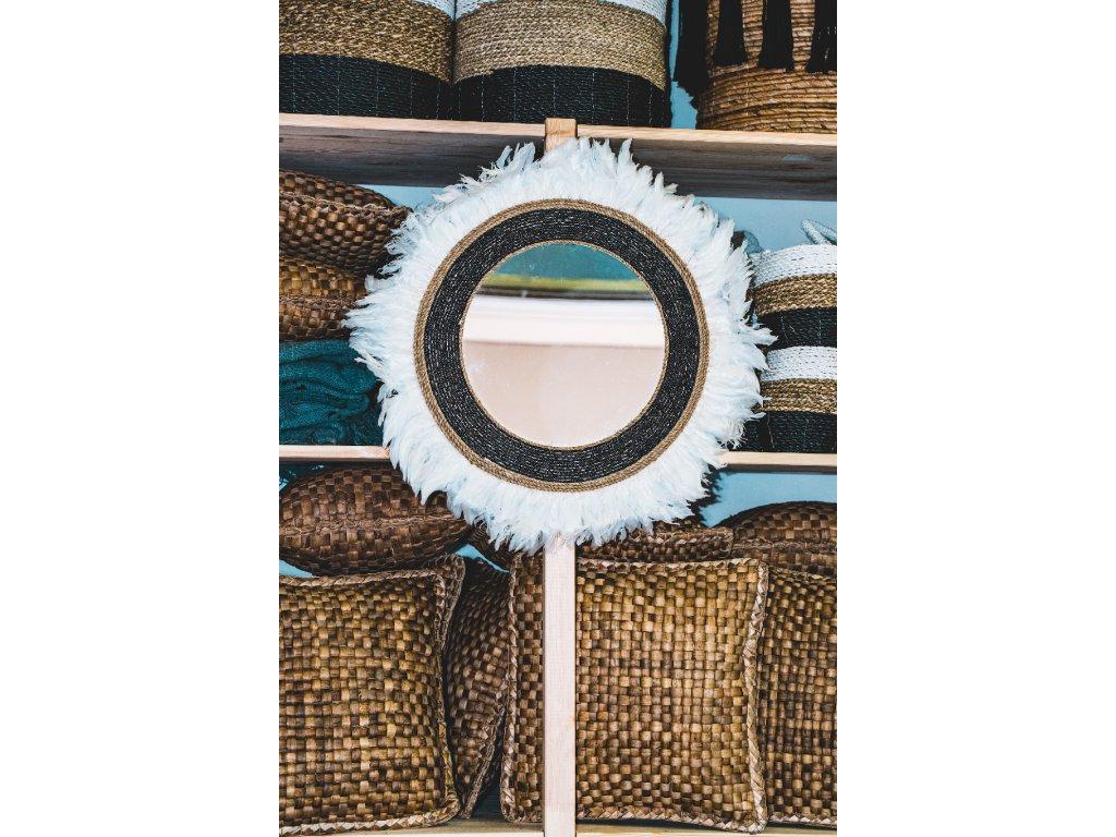 Nástěnná dekorace se zrcadlem - typ 2