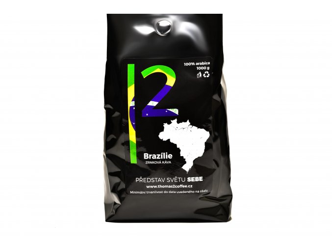 Brazílie 1000g thomas2coffee