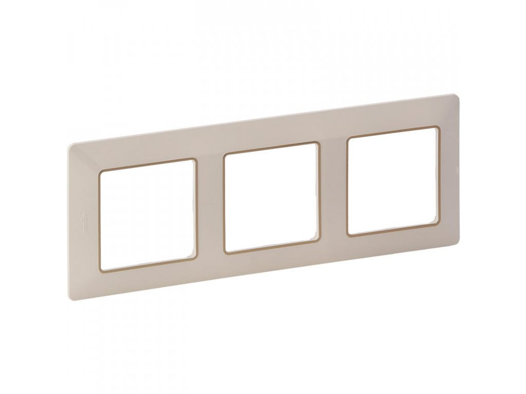 legrand 754063 valena life ramecek 3p bezova zlato large greybox