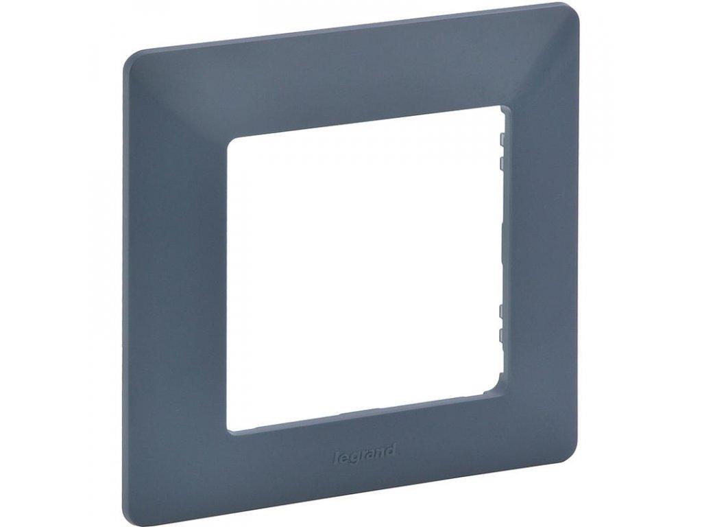 legrand 754091 valena life ramecek 1p azurova large greybox