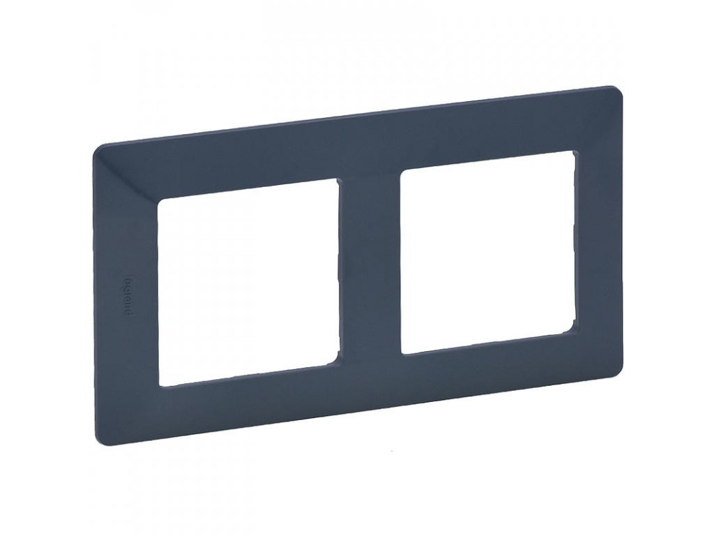 legrand 754092 valena life ramecek 2p azurova large greybox