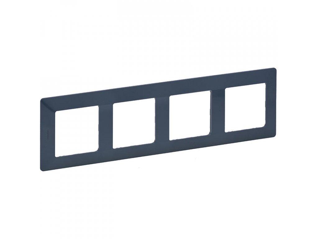 legrand 754094 valena life ramecek 4p azurova large greybox