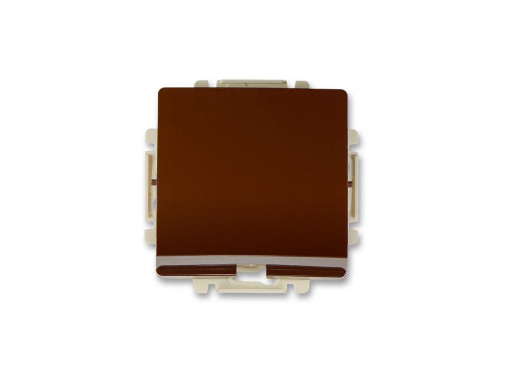 abb 3938g a00034 h1 vyvodka kabelova, s odlehcovaci sponou bez svorkovnice , hneda large greybox